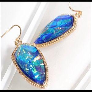Jewelry - Blue Opal Earrings